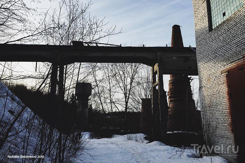 Мраморно-известковый завод в Рускеале / Фото из России