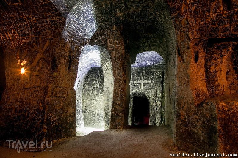 Пещеры Придонья. Калачеевская пещера / Россия