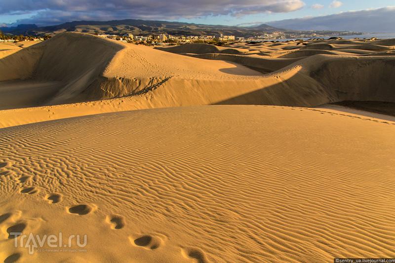 Пески Маспаломаса / Фото из Испании