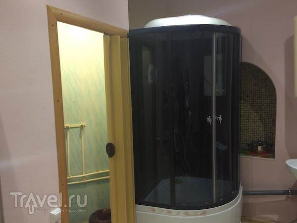 Томск.  Жилая водонапорная башня / Россия