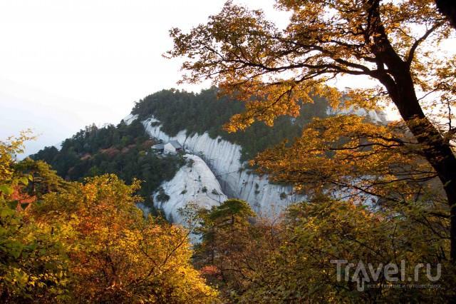 Русские в Китае. Гора Хуашань / Китай
