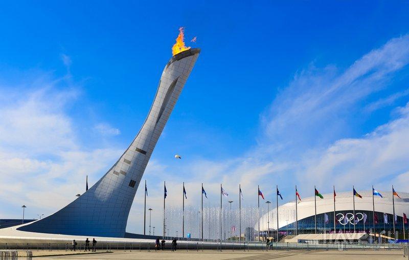 сочи олимпийский огонь фото