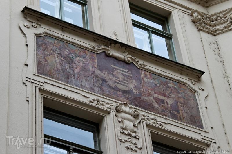 Прогулка по центральным улицам Праги / Чехия