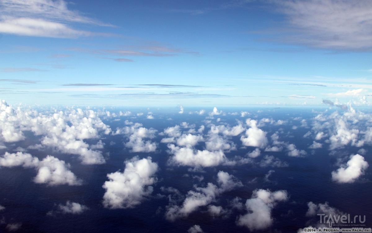 Прыганье по островам между Гонолулу и Гуамом, или как я пересёк тихий океан на Боинге 737 / Микронезия