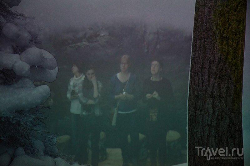 Частью картины становятся и зрители: камера снимает их и переносит на экран / Фото из Финляндии