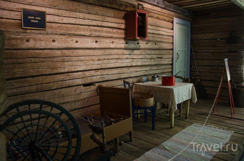 Реконструкция типичного жилища начала XX века / Фото из Финляндии