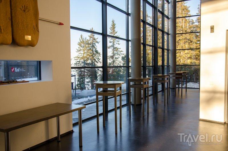 В визит-центре: много света и красивый вид / Фото из Финляндии