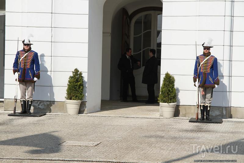 Президентский дворец в Братиславе и его парк / Словакия