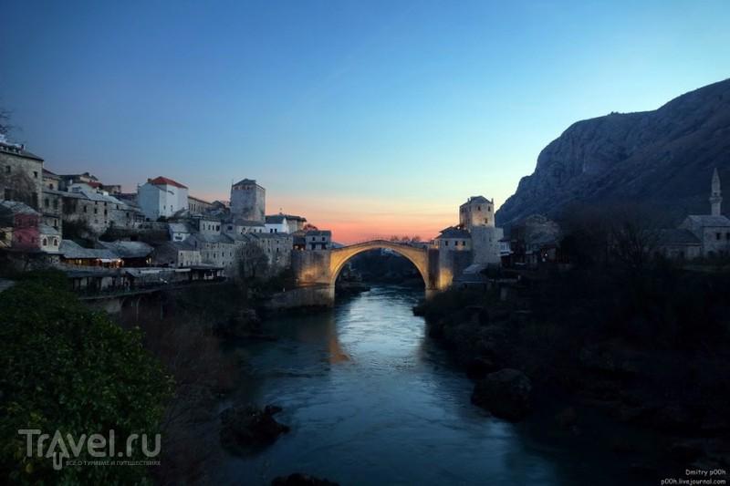 Красивый горный край. Босния и Герцеговина. Мостар / Босния и Герцеговина