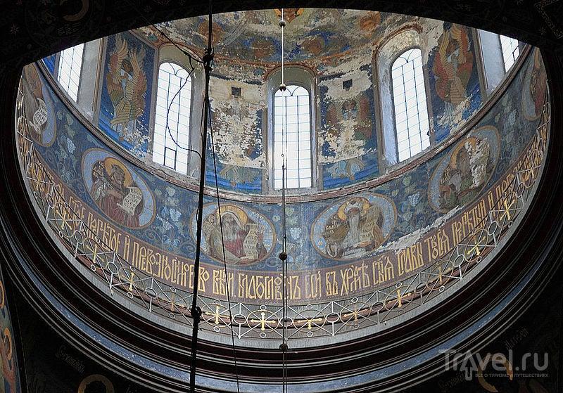 Фрески Новоафонского монастыря