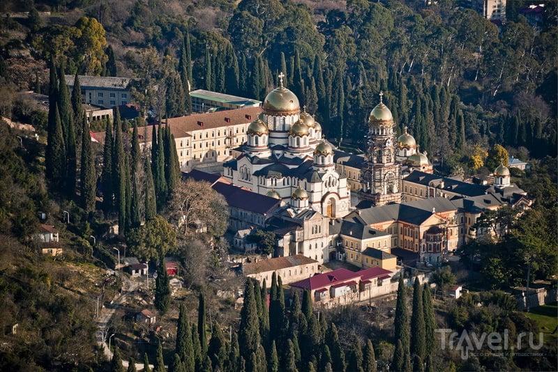 Комплекс Новоафонского монастыря