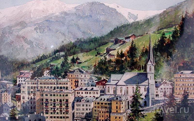 Богема в Бадгастайне: от Кайзера Вильгельма I до певца Фридриха Лихтенштейна