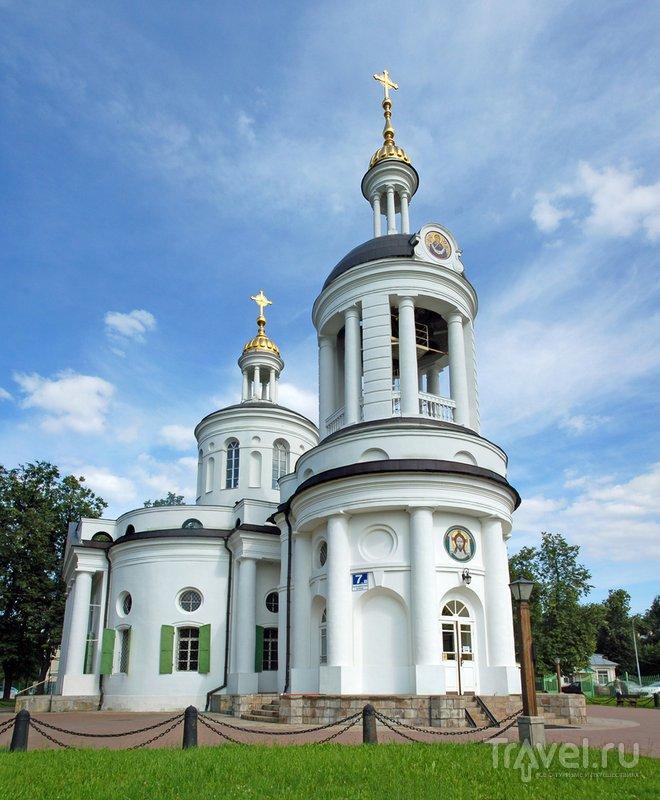 Церковь Влахернской Богоматери в Кузьминках...