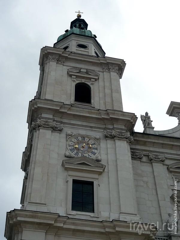 """""""Сердце"""" Зальцбурга: две старые площади и немного воскресного рынка / Австрия"""