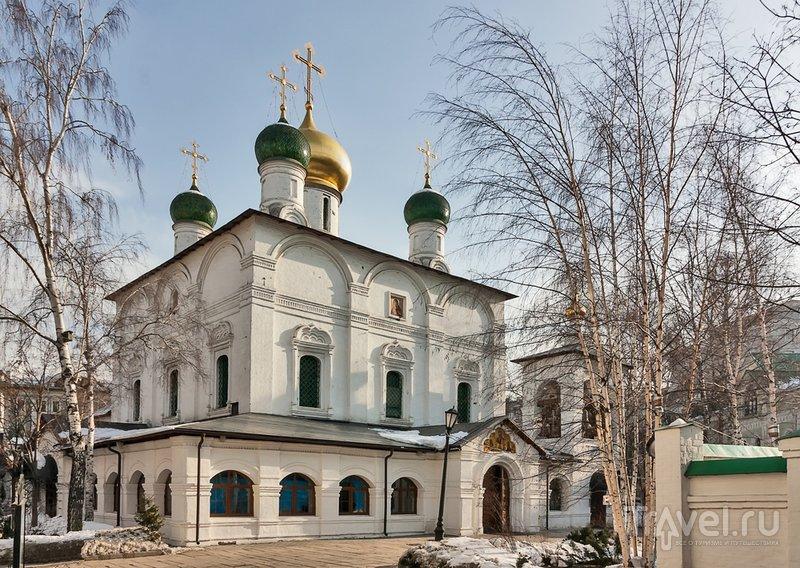 Единственная сохранившаяся постройка монастыря - храм XVII века