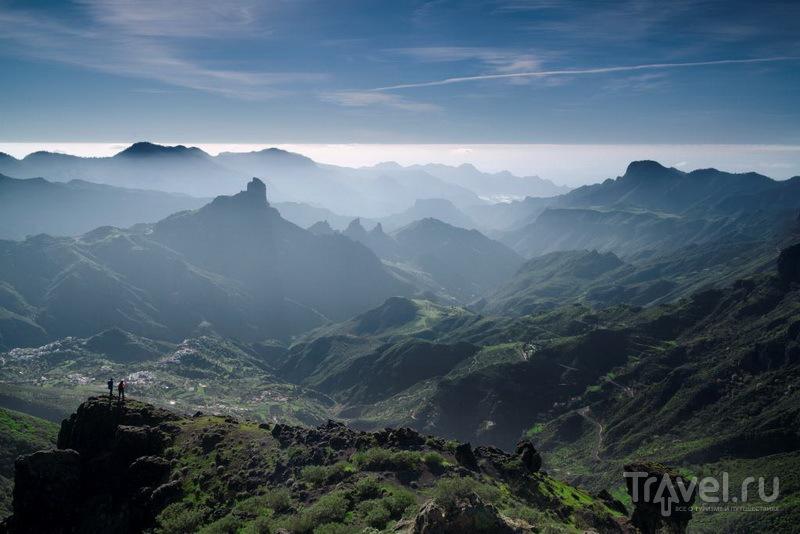 Панорама вулканических гор