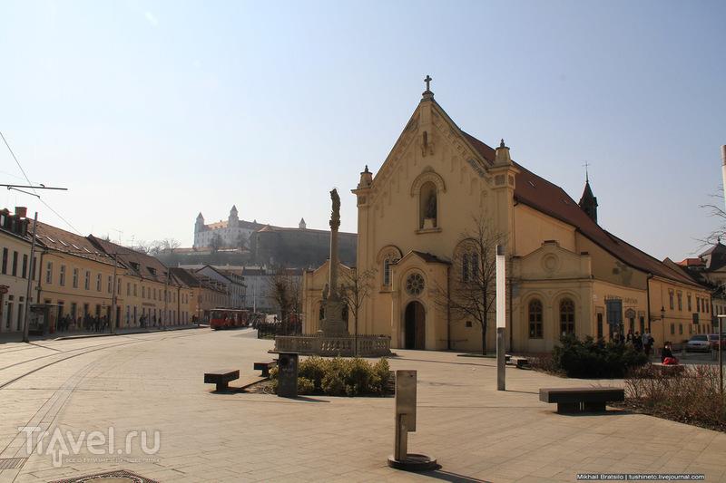 От вокзала Братиславы до Старого города / Словакия