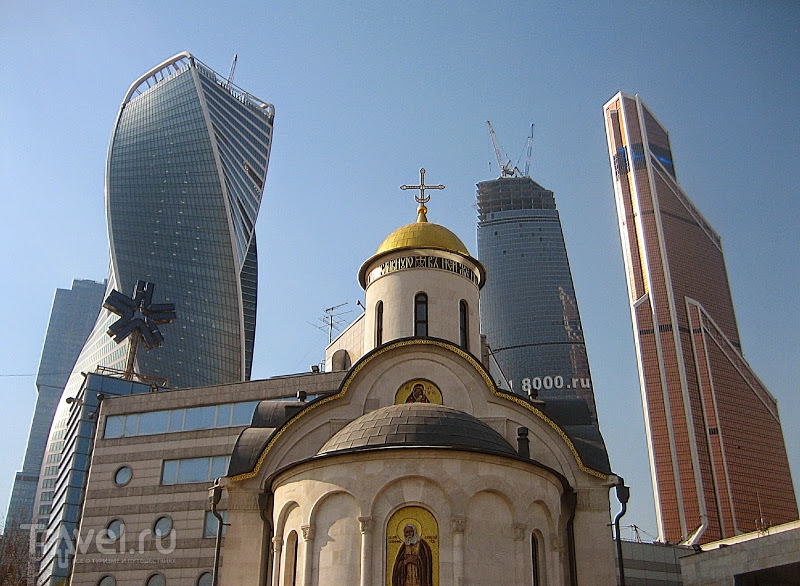 Москва-Сити. В назидание народам древности / Россия