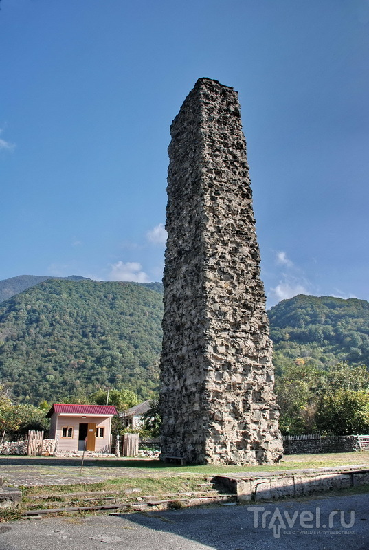 Бзыбская башня крепости Хасан-Абаа