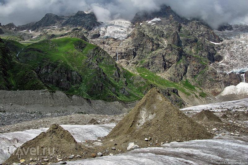 Сванетия - 2014. Ледник Лардаад / Фото из Грузии
