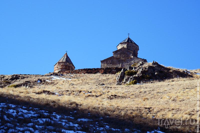 Грузия. Степанцминда. Гора Казбек / Грузия