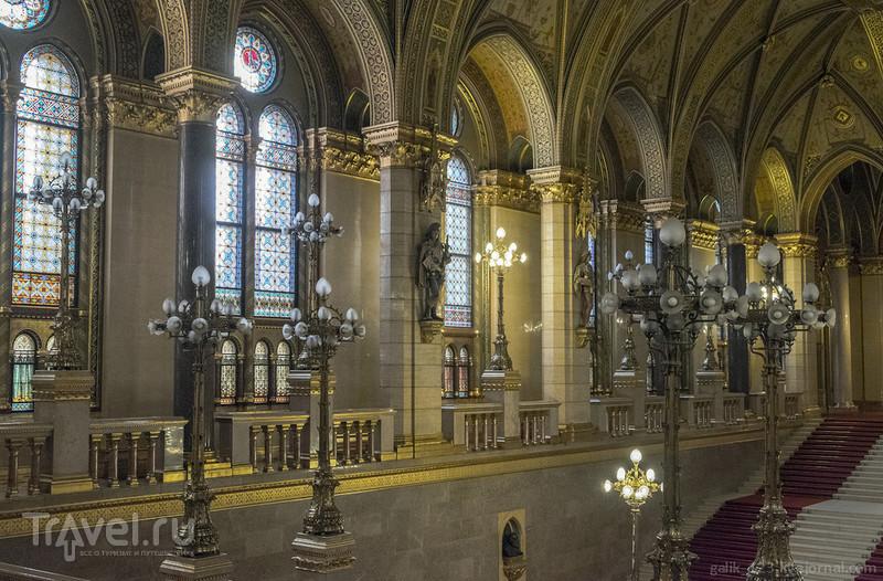 Что можно увидеть в Венгерском парламенте / Фото из Венгрии