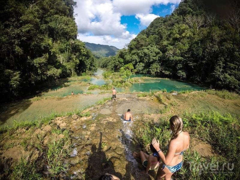 Семук Чампей - Чудеса в Гватемале / Гватемала
