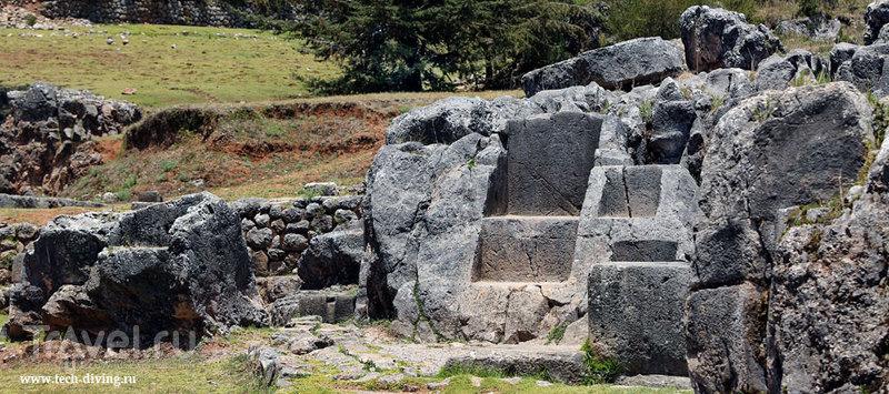Крепость Саксайуаман (Saksaywaman). Куско. Перу / Перу