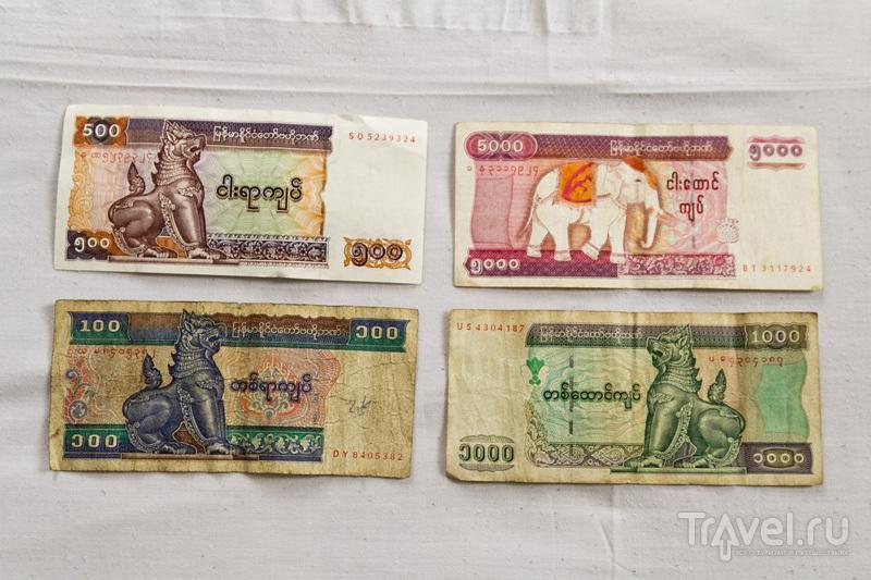 Бирманские деньги / Мьянма