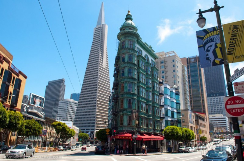 Город холмов и свободы, геев, китайцев и хиппи, в который невозможно не влюбиться - Сан-Франциско / США