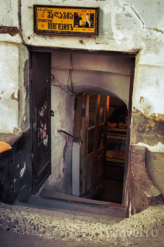 Прогулки по Старому Тбилиси. Бани в центре города и любимые места горожан / Фото из Грузии