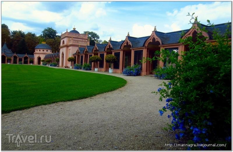 Дворцовый парк Шветцинген: мечеть как символ толерантности / Германия