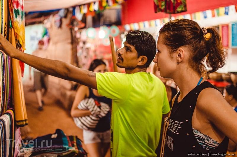 Первое вечернее кино, Арамболь, Гоа / Индия