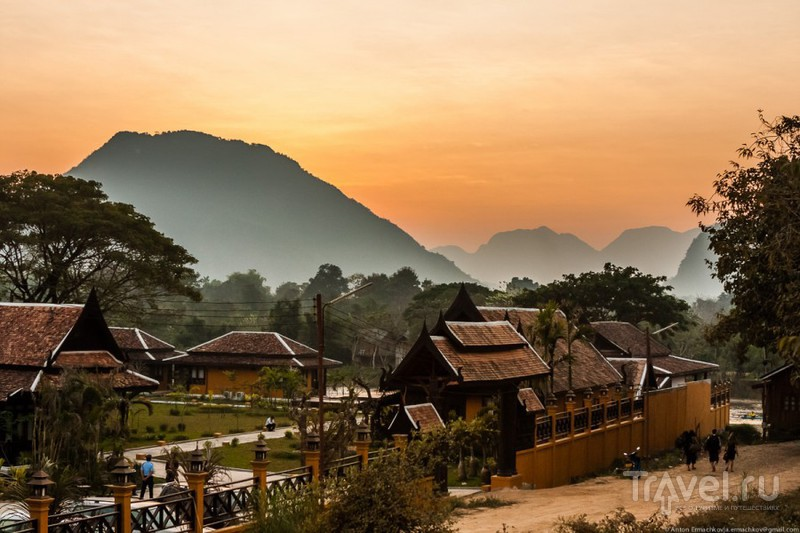 Большое Азиатское Путешествие: Лаос. Vang Vieng / Фото из Лаоса