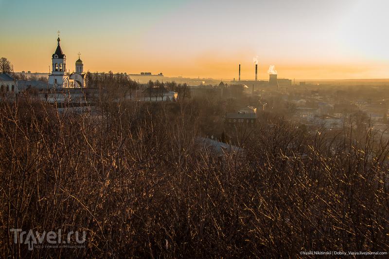 Восход над городом / Россия