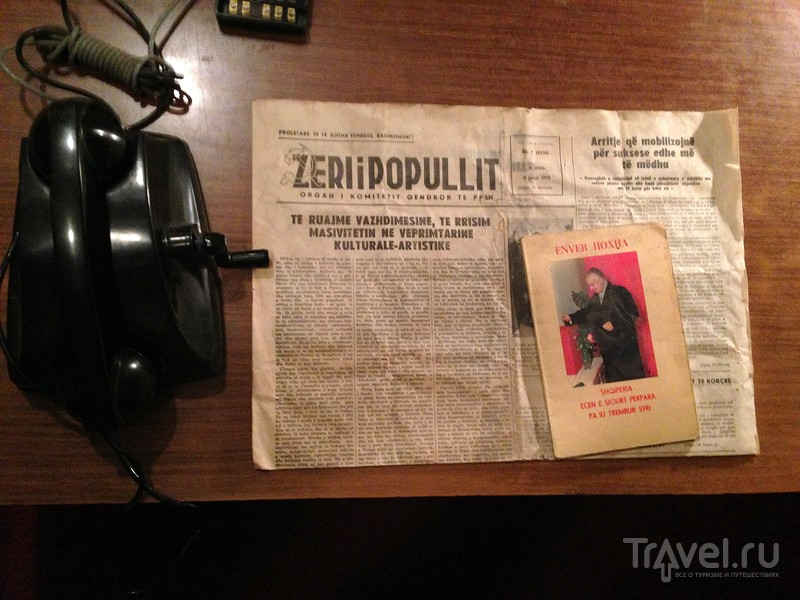 Секретный бункер Энвера Ходжи в Албании / Фото из Албании