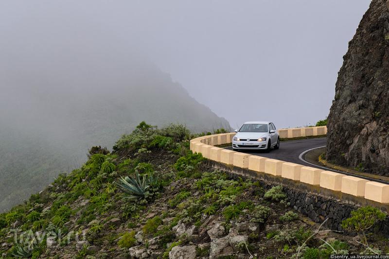 Тенерифе. Мыс Тено и скалы Лос Гигантеc / Фото из Испании
