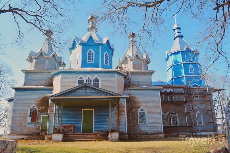Душатин, храм Василия Великого, Брянская область / Россия
