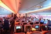 "В салоне Boeing-777 авиакомпании ""Аэрофлот"""