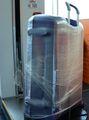 Перед сдачей в багаж чемодан можно обмотать пленкой