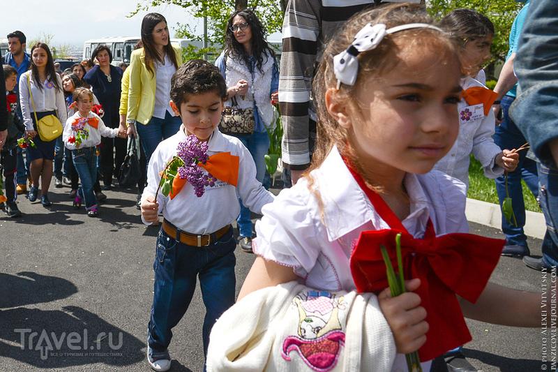 Цицернакаберд в Ереване / Фото из Армении