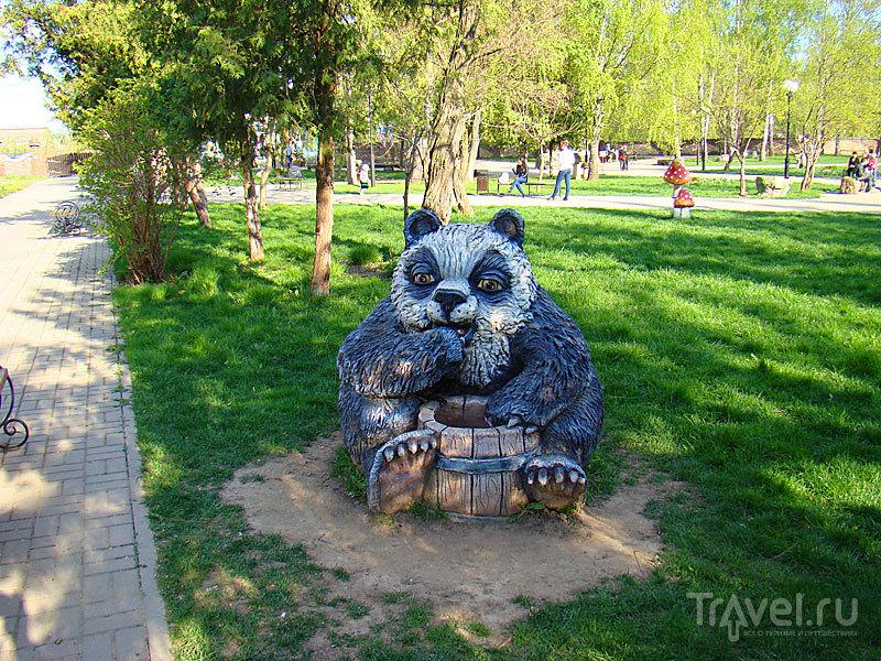 Детский парк в Козельске / Россия