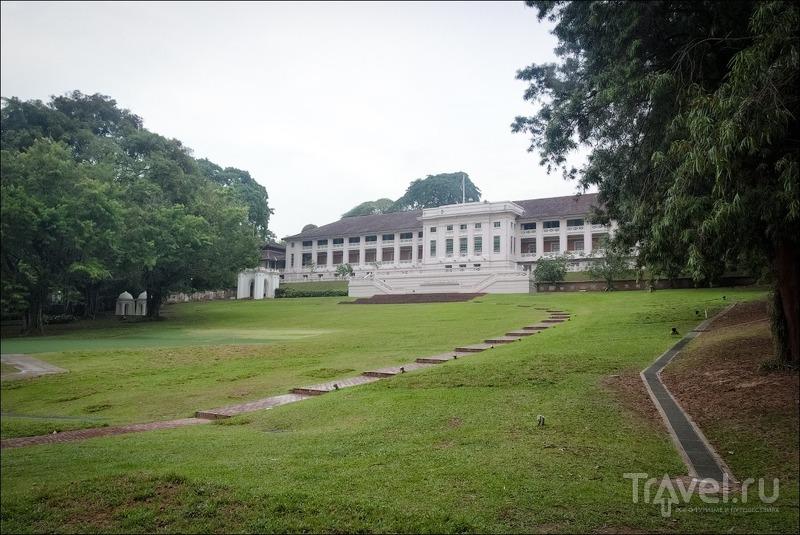 Прогулки по Сингапуру: Fort Canning Park / Сингапур