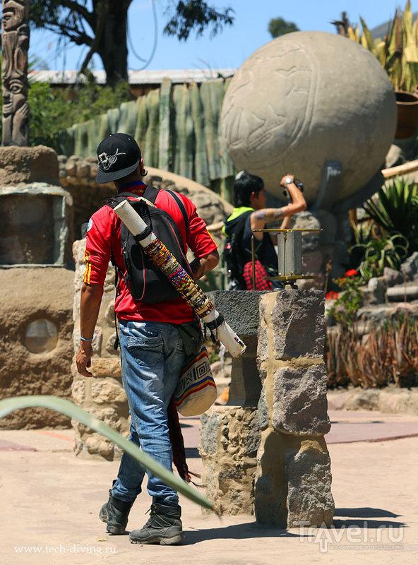 """Поездка к """"Середине Мира"""", музей Intinan и поиски настоящего экватора в Эквадоре / Эквадор"""