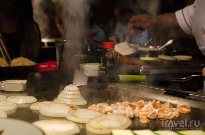 Ресторанчик Benihana в японском квартале Сан-Франциско / США