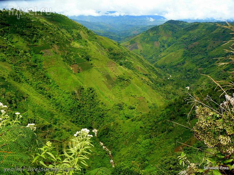 Колумбия - Con mucho gusto! Сан Агустин - водопады реки Магдалены и луло! / Фото из Колумбии