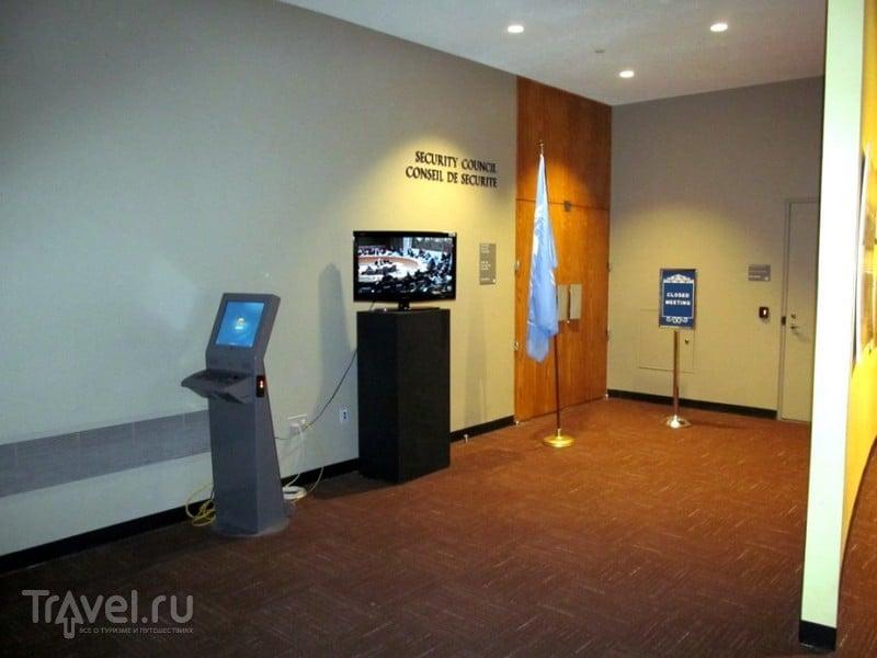 Нью-Йорк. Экскурсия в ООН / США