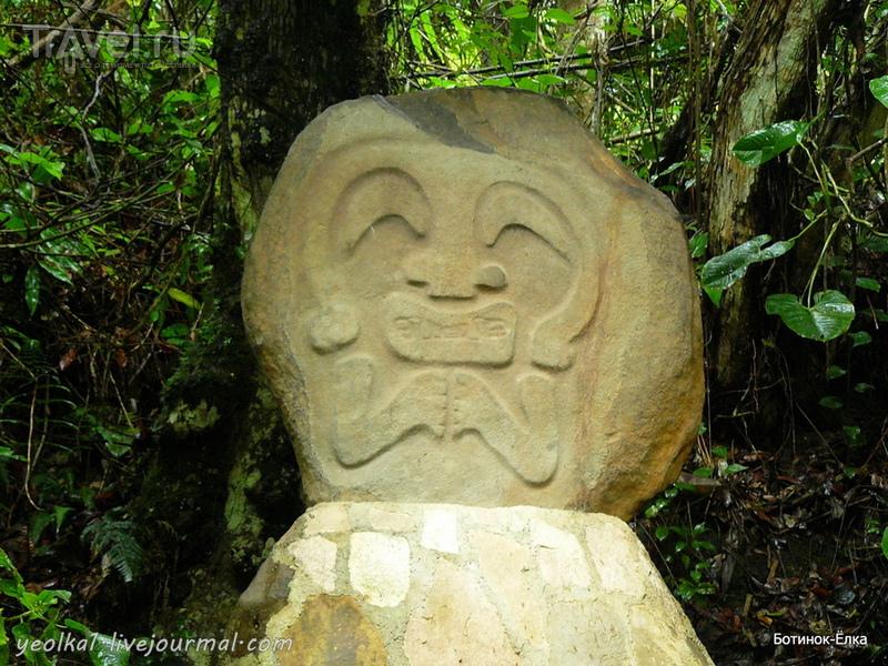 Сан-Агустин - о чем молчат древние скульптуры? / Колумбия