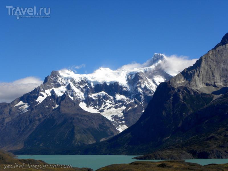 Чили - сбыча мечт! Патагония. Парк Торрес дель Пайне. Водопад Сальто Гранде и озеро Nordenskjöld / Фото из Чили