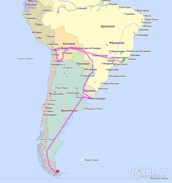Едем в Боливию! Информационный пост о Южной Америке / Аргентина